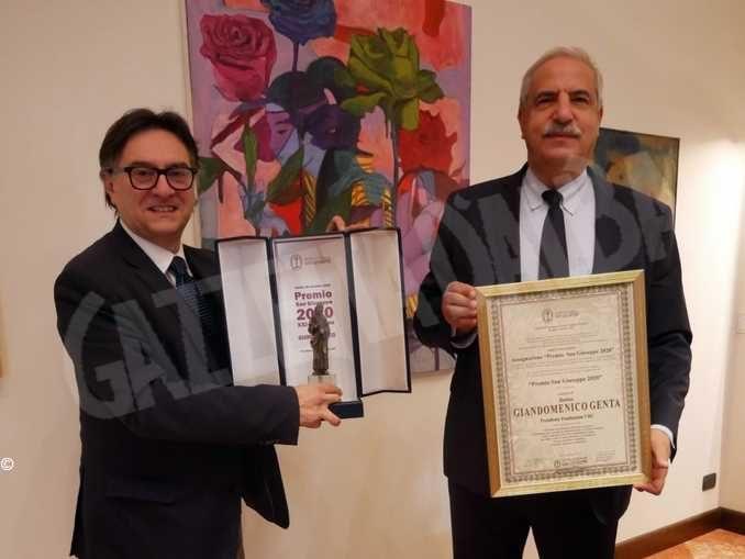 Il premio San Giuseppe 2020 assegnato a Giandomenico Genta