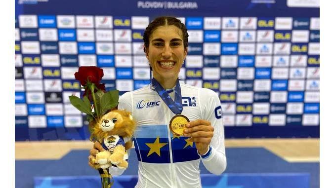 Ciclismo: titolo europeo su pista per la ventiduenne cuneese Elisa Balsamo