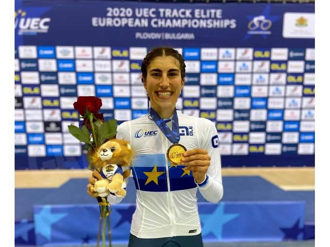 Elisa Balsamo pista