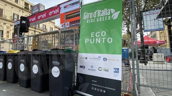 Giro d'Italia e raccolta differenziata: Asti è salita sul podio