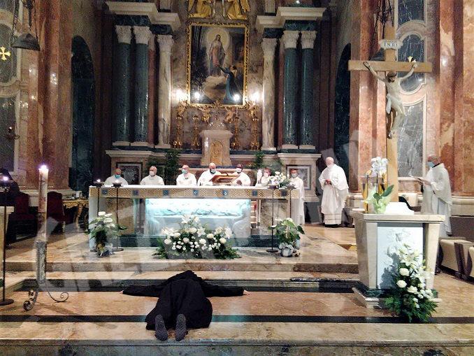 """Il """"SI"""" di suor Agnese proclamato oggi al Santuario della Madonna dei Firori di Bra 3"""
