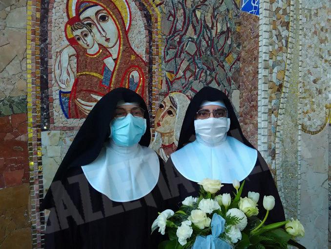 """Il """"SI"""" di suor Agnese proclamato oggi al Santuario della Madonna dei Firori di Bra 4"""
