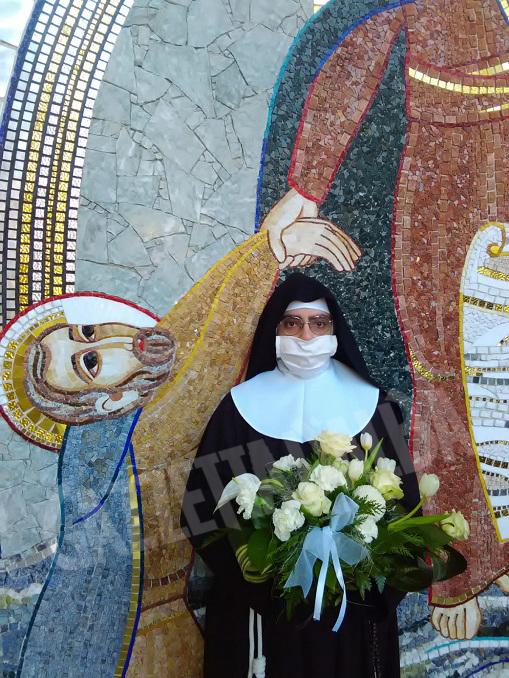 """Il """"SI"""" di suor Agnese proclamato oggi al Santuario della Madonna dei Firori di Bra 6"""