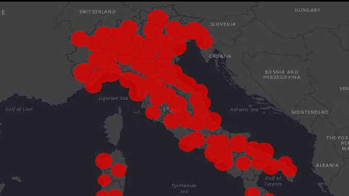 Covid: il punto della situazione in Italia