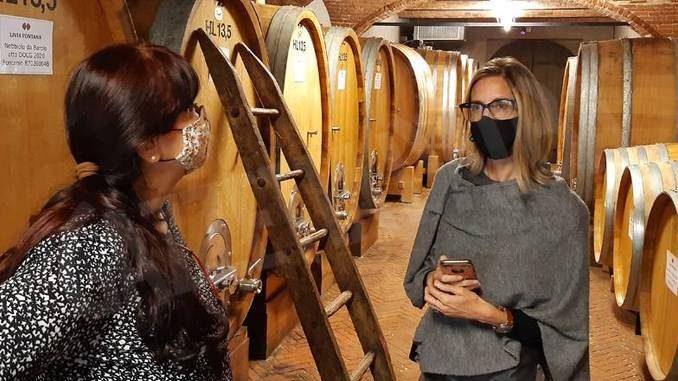 La giornalista canadese Michaela Morris ospite del consorzio di promozione I vini del Piemonte
