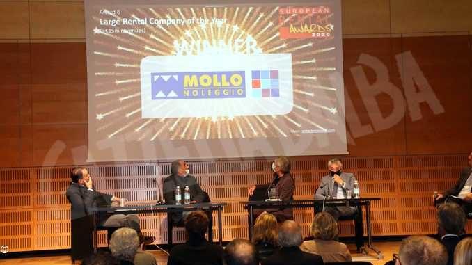 Dopo il premio internazionale Mollo noleggio premiata anche dall'Amministrazione comunale 1