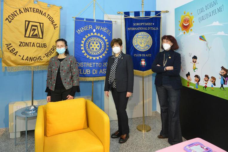 Patrizia Gentile, Manuela Lanzone, Maria Bagnadentro