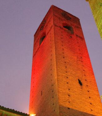 Giornata internazionale per l'eliminazione della violenza contro le donne: le torri di Alba si illuminano di rosso 1