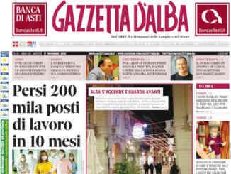 La copertina di Gazzetta d'Alba in edicola martedì 17 novembre