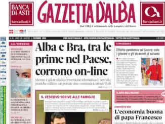 La copertina di Gazzetta d'Alba in edicola martedì 1° dicembre