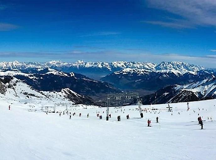 Sci – montagne – panorama