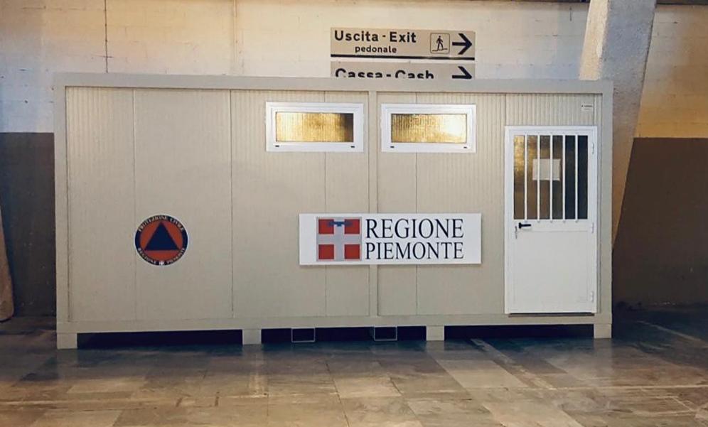 V Padiglione di Torino Esposizioni di un'area sanitaria Covid (1)