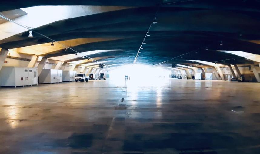 V Padiglione di Torino Esposizioni di un'area sanitaria Covid (2)