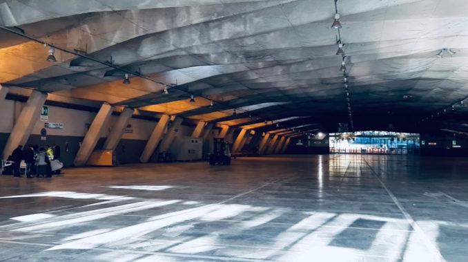 Emergenza Covid: avanzamento lavori area sanitaria V Padiglione Torino Esposizioni (FOTO e VIDEO) 3