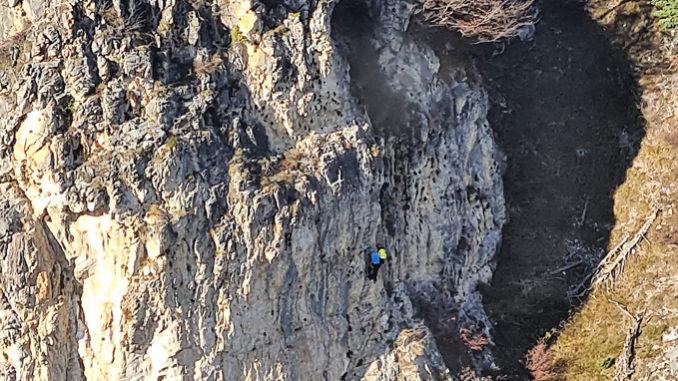 Recuperato dal Soccorso Alpino e Speleologico Piemontese escursionista 52enne ferito in Val Maira