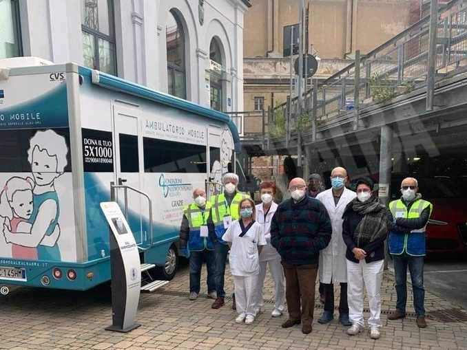 Il nuovo ambulatorio mobile è pronto e inizia con le vaccinazioni antinfluenzali