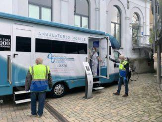 Il nuovo ambulatorio mobile è pronto e inizia con le vaccinazioni antinfluenzali 1