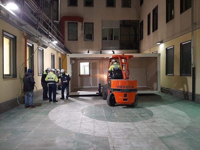 collocazione container S. Croce Cuneo