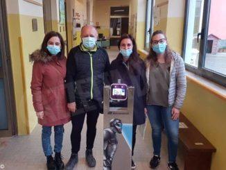 Cossano: termoscanner per le scuole grazie alla famiglia dell'ex sindaco Tosa 1