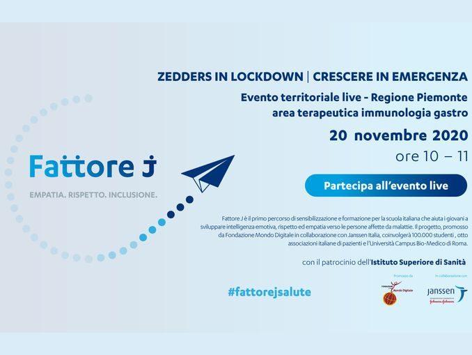 Empatia, rispetto e inclusione: domani la conferenza del progetto Fattore J