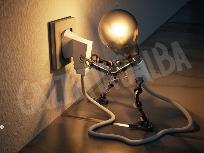 impresa idea lampadina