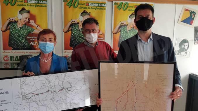 Donate al Comune di Cortemilia le mappe del tunnel verso Alba del 1950 1