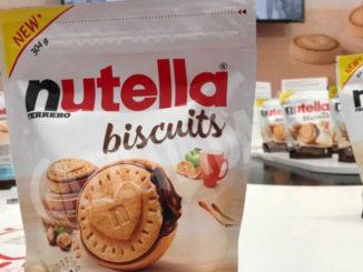 Ferrero: venduto 1mld Nutella Biscuits, nuova linea produttiva