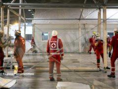 Ospedale Covid a Torino Esposizioni, prosegue il montaggio dei 458 posti letto 2