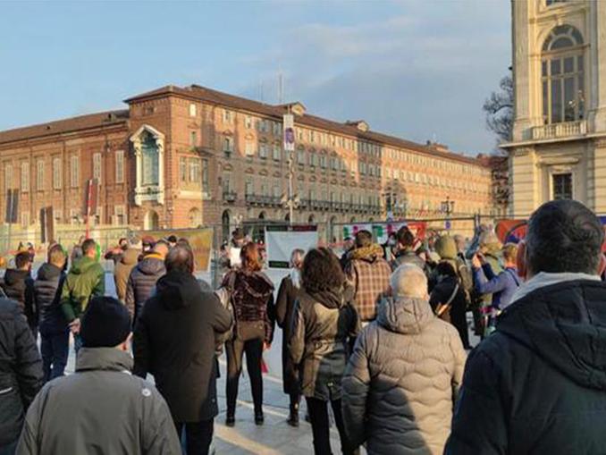 presidio in centro Torino