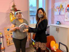 Il Rotary club di Alba per le scuole: donate oltre 200 visiere 7