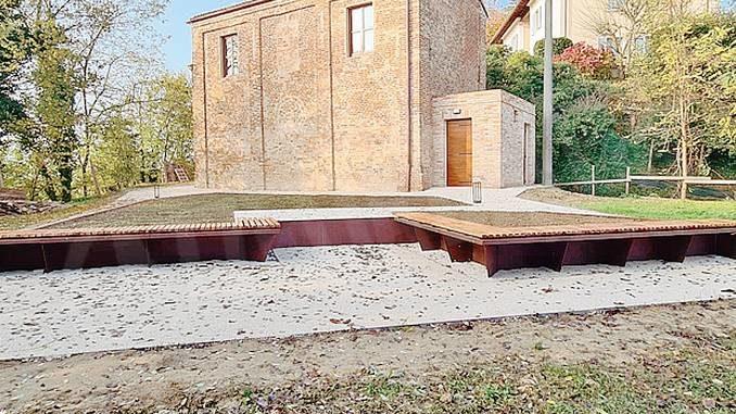 A Santa Vittoria è pronto il belvedere vicino alla cappella di San Rocco