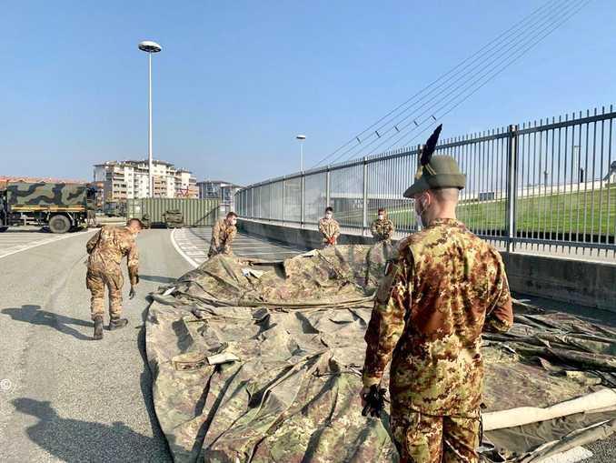 stadio juventus tamponi esercito 3