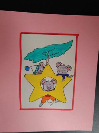 260 biglietti di Natale per i ricoverati di Verduno dai bambini della primaria di Ceresole d'Alba 12