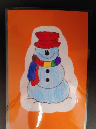 260 biglietti di Natale per i ricoverati di Verduno dai bambini della primaria di Ceresole d'Alba 13