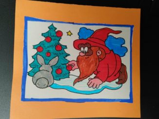 260 biglietti di Natale per i ricoverati di Verduno dai bambini della primaria di Ceresole d'Alba 17
