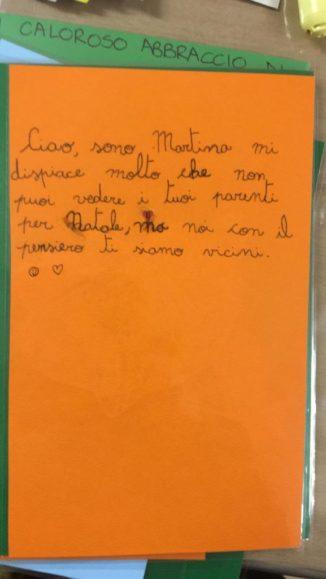 260 biglietti di Natale per i ricoverati di Verduno dai bambini della primaria di Ceresole d'Alba 6