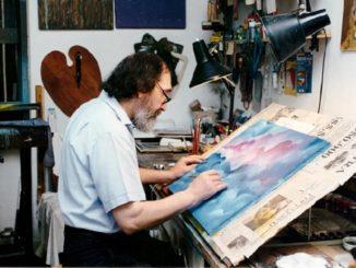 Grande cordoglio nel mondo della cultura e dell'arte per la perdita del rinomato pittore Adriano Moretti
