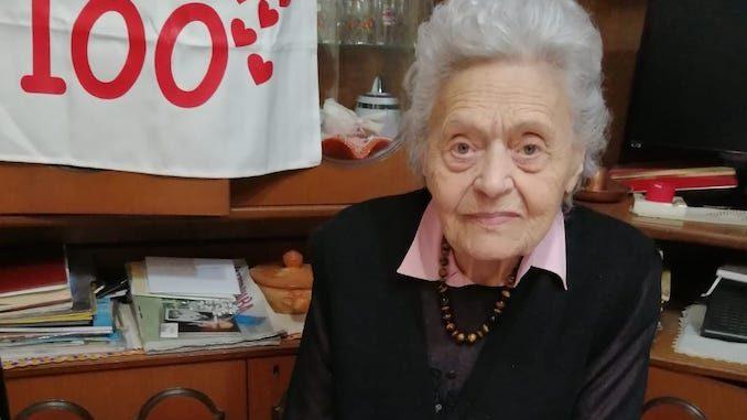 Antonietta Morello di Pocapaglia ha festeggiato 100 anni 1