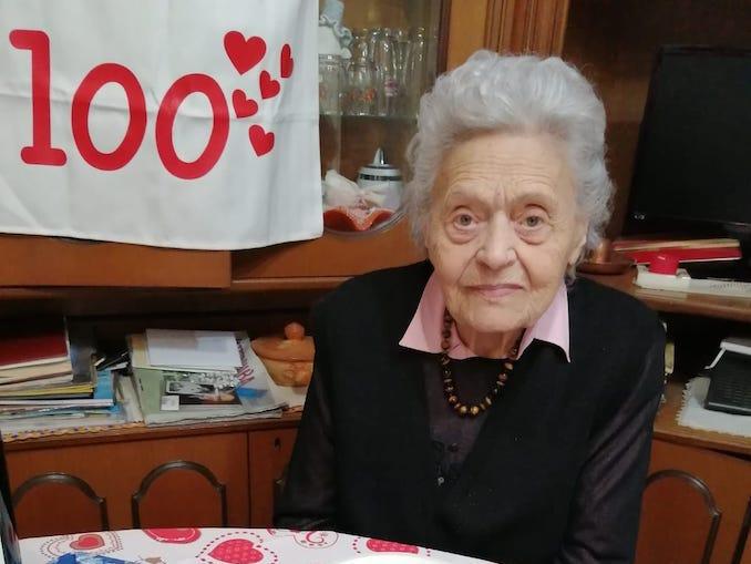 Antonietta 100 anni
