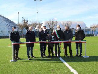 Alba: inaugurati i restaurati campi da calcio di via dell'Acquedotto e Renzo Saglietti