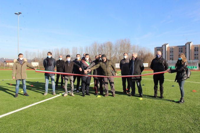 Alba: inaugurati i restaurati campi da calcio di via dell'Acquedotto e Renzo Saglietti 2