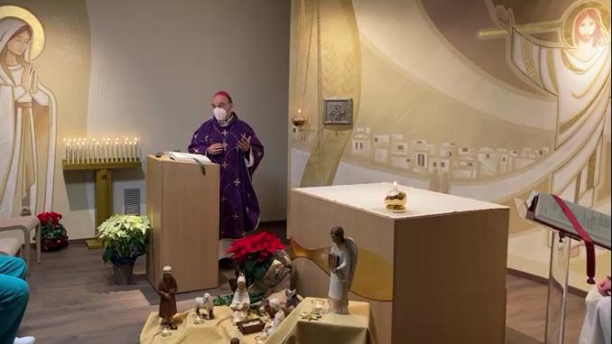 Inaugurata la cappella di Verduno; la diocesi dona ecografo ai medici