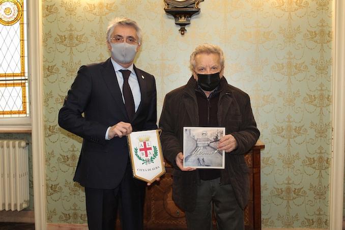 Carlo Bo e Nando Vioglio