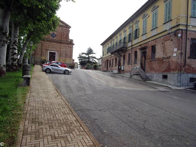 Ceresole piazza Don Cordero