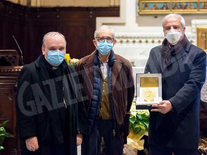 Giandomenico Genta insieme ad Attilio Cammarata e Mons. Marco Brunetti