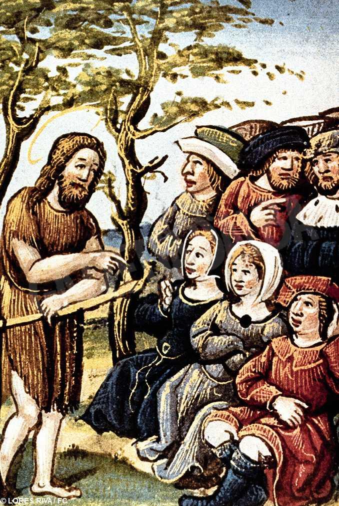 Giovanni Battista annuncia Messia