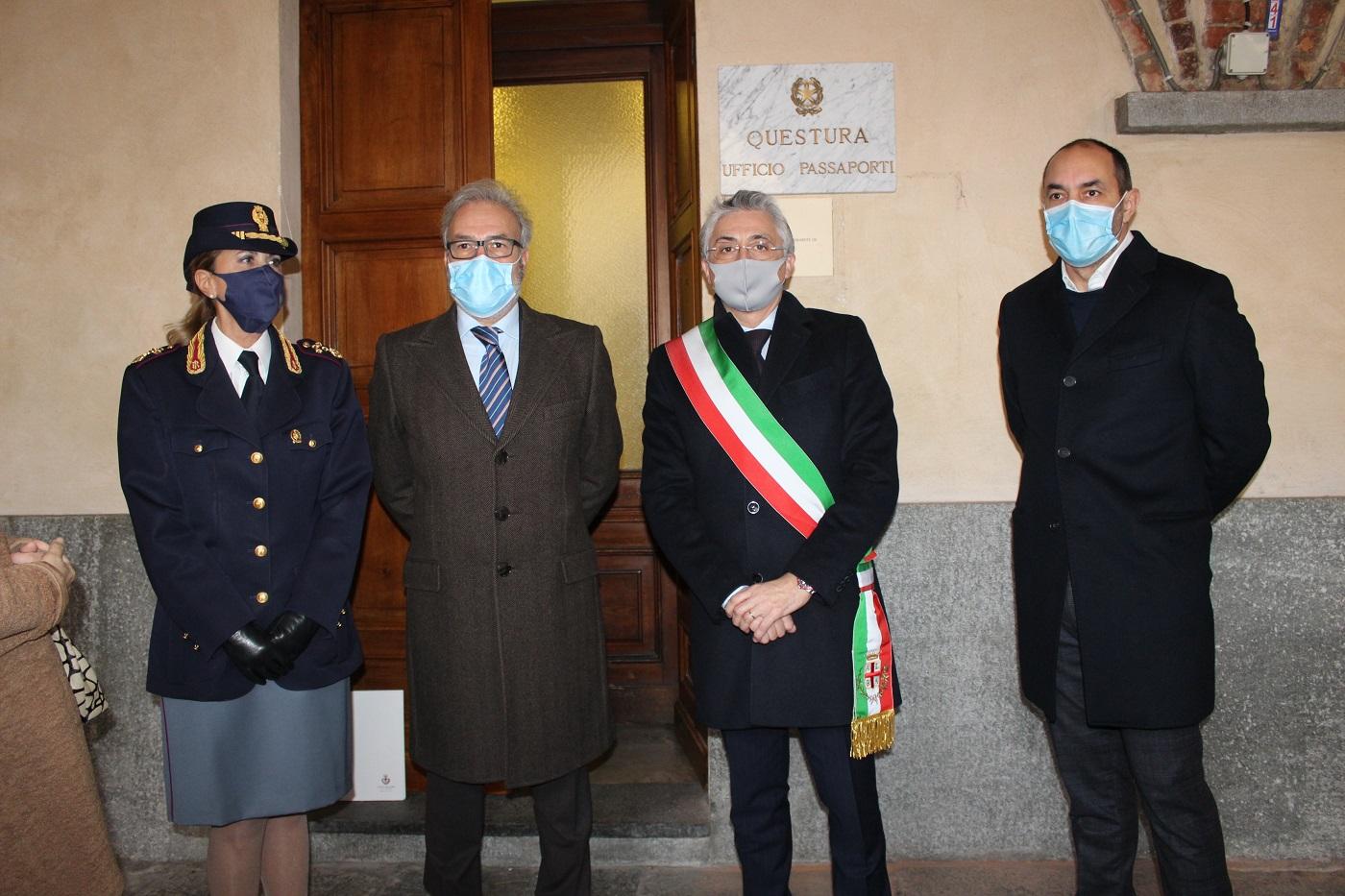 Inaugurazione Sportello passaporti Alba