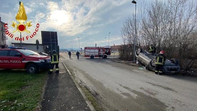 Incidente in Valle Belbo tra Nizza Monferrato e Canelli