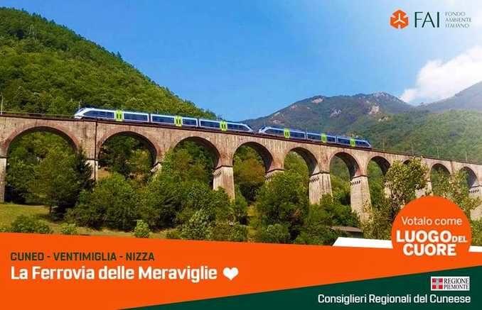 Cirio e i consiglieri regionali del Cuneese sostengono la ferrovia Cuneo-Ventimiglia