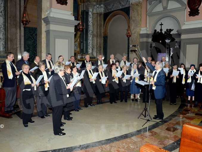 Moscatello e coro San Paolo